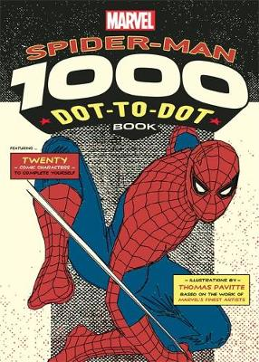 Picture of The Marvel Spider-Man 1000 Dot-to-Dot Book: Twenty Comic Characters to Complete Yourself