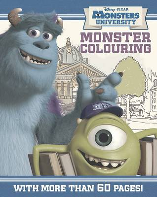 Picture of Disney Monsters University Colouring Book