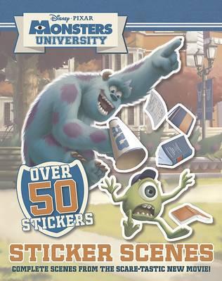 Picture of Disney Monsters University Sticker Scene