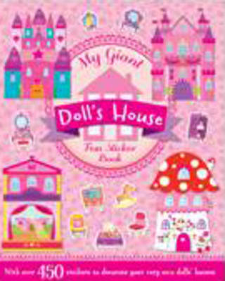 Picture of My Giant Sticker and Activity Dolls House Book