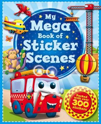 Picture of My Mega Sticker Scenes Book