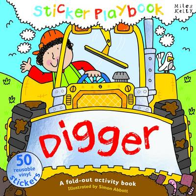Picture of Digger Sticker Playbook