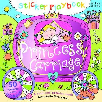 Picture of Sticker Playbook Princess Carriage