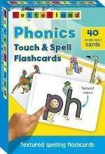 Picture of Phonics Touch & Spell Flashcards: Textured Spelling Flashcards