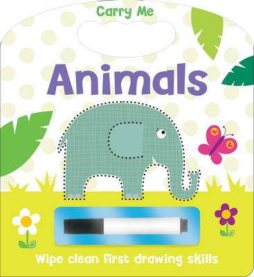 Picture of Carry Me Wipe Clean Drawing Animals