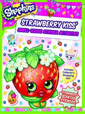 Picture of Shopkins Scented Sticker Activity - Strawberry Kiss