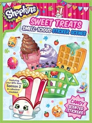 Picture of Shopkins Scented Sticker Scene - Apple Blossom