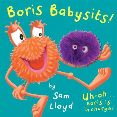 Picture of Boris Babysits: Cased Board Book with Puppet