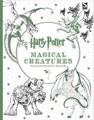 Picture of Harry Potter Magical Creatures Colouring Book