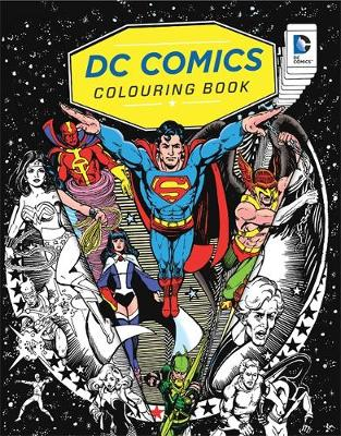 Picture of DC Comics Colouring Book