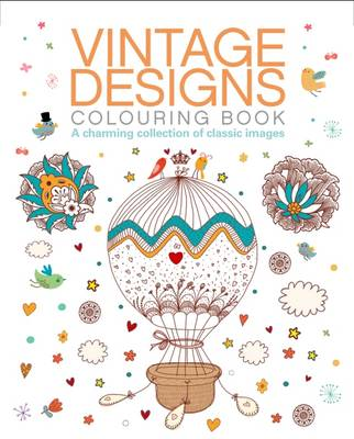 Picture of Vintage Designs Colouring Book