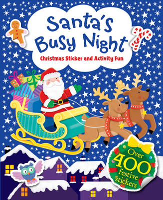 Picture of Santa's Busy Night - Christmas Sticker and Activity Fun