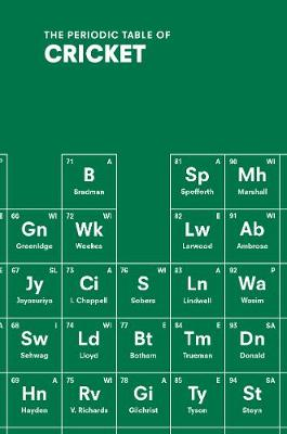 Picture of The Periodic Table of Cricket