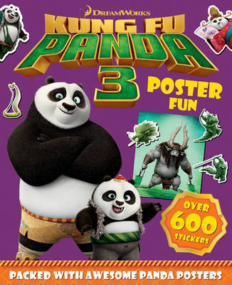 Picture of Kung Fu Panda 3 Poster Fun