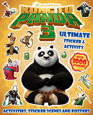 Picture of Kung Fu Panda 3 Ultimate Sticker & Activity