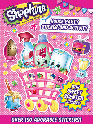 Picture of Shopkins Sticker Book: House Party