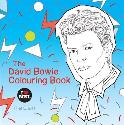 Picture of The David Bowie Colouring Book