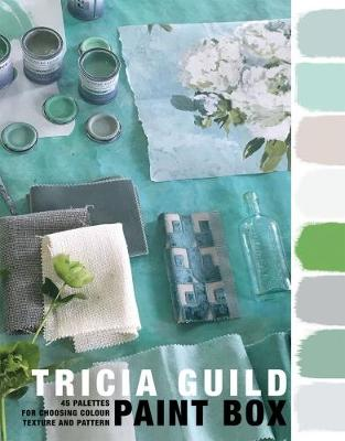 Picture of Tricia Guild Paint Box: 45 palettes for choosing colour texture and pattern
