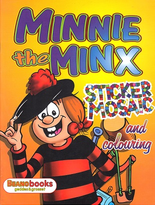 Picture of MINNIE THE MINX- STICKER MOSAI