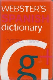 Picture of Websters Gem Spanish Dictionary