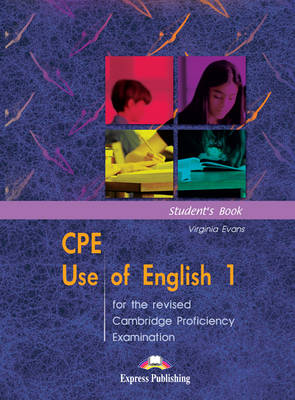 Picture of CPE Use of English 1 for the Revised Cambridge Proficiency Examination: Student's Book