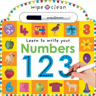 Picture of Wipe Clean - Numbers