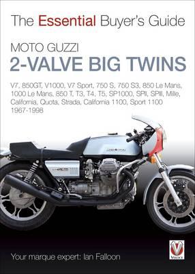 Picture of Moto Guzzi 2-Valve Big Twins: V7,  850gt, V1000, V7 Sport, 750 S, 750 S3, 850 Le Mans, 1000 Le Mans, 850 T, T3, T4, T5, Sp1000, Spii, Spiii, Mille, California, Quota, Strada, California 1100, Sport 1100: 1967-1998