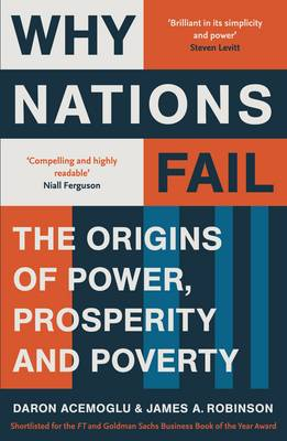 Picture of Why Nations Fail: The Origins of Power, Prosperity and Poverty