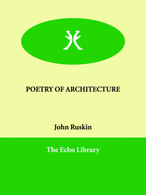 Picture of Poetry of Architecture