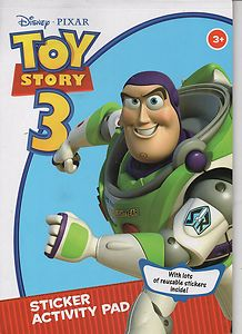 Picture of Toy Story 3- Sticker Activity