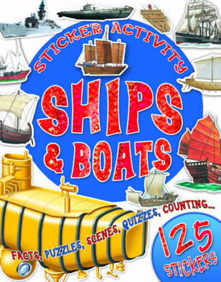 Picture of Sticker Activity Ships and Boats