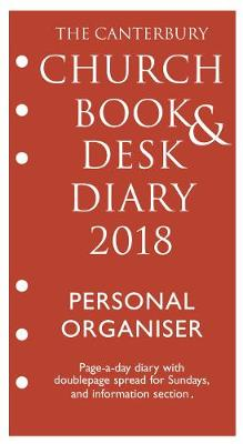 Picture of The Canterbury Church Book & Desk Diary 2018