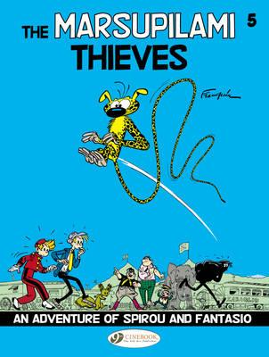 Picture of Spirou & Fantasio: 5: Marsupilami Thieves