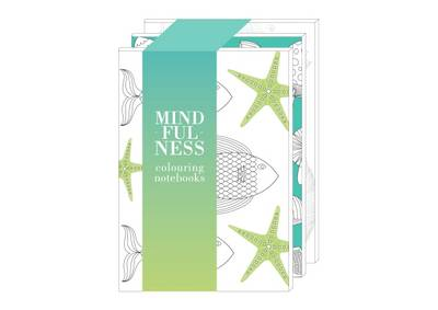 Picture of Mindfulness: Colouring Notebooks (Earth, Air & Water)