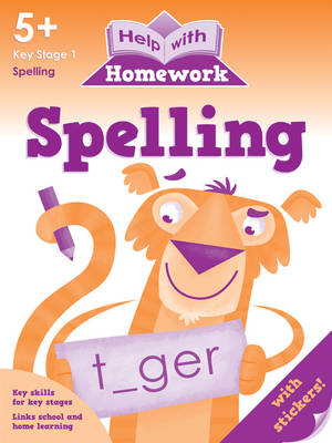 Picture of Spelling 5+