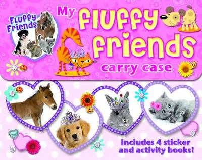Picture of My Fluffy Friends Activity Carry Case: Includes 4 Sticker and Activity Books