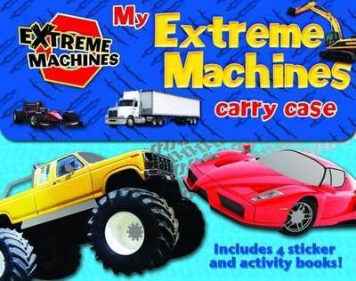 Picture of My Extreme Machines Carry Case: Includes 4 Sticker Activity Books