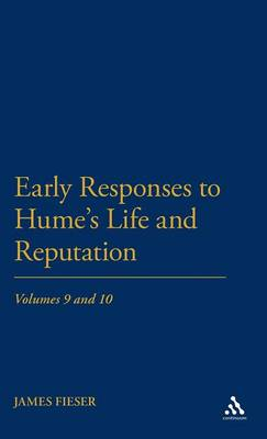Picture of Early Responses to Hume's Life and Reputation
