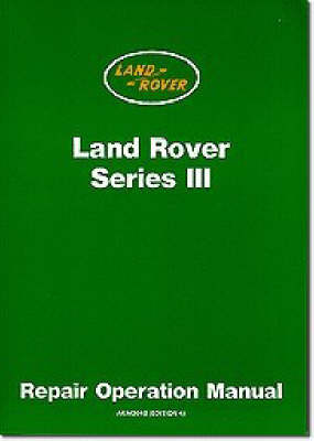 Picture of Land Rover Series 3 Workshop Manual
