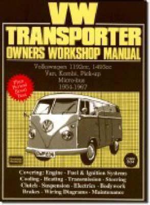 Picture of Volkswagen Workshop Manual: Vw Transporter 1954-67: Part No Owm834