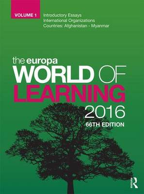 Picture of The Europa World of Learning 2016
