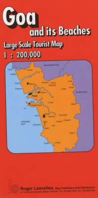 Picture of Goa and Its Beaches: Tourist Map