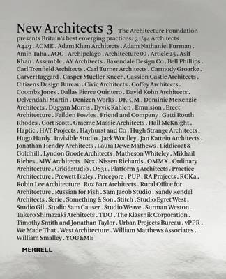 Picture of New Architects: Britain's Best Emerging Architects: Volume 3
