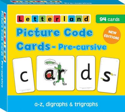Picture of Precursive Picture Code Cards