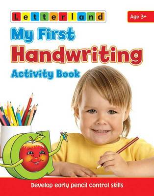 Picture of My First Handwriting Activity Book: Develop Early Pencil Control Skills