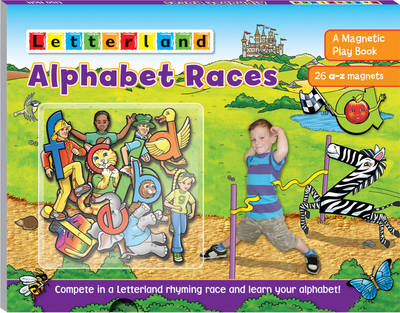 Picture of Alphabet Races: A Magnetic Play Book