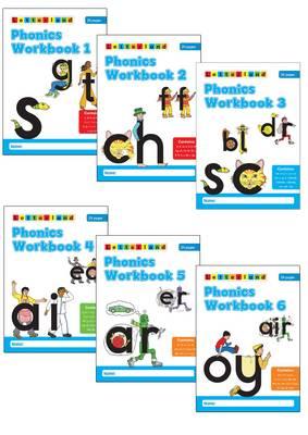 Picture of Phonics Workbooks (1-6)