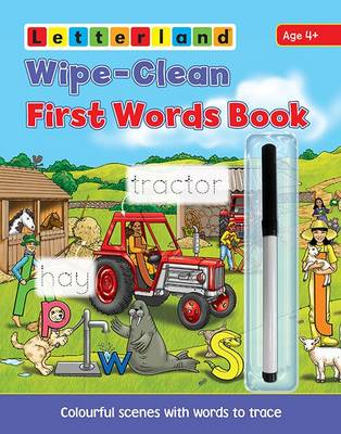 Picture of Wipe Clean First Words Book: Wipe-Clean Scenes with Words to Trace