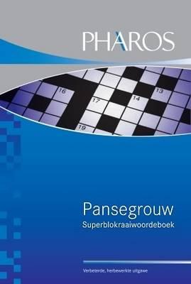 Picture of Pansegrouw superblokraaiwoordeboek