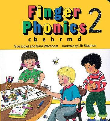 Picture of Finger Phonics: ck, e, h, r, m, d